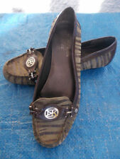 Patent Leather Animal Print Flats for Women