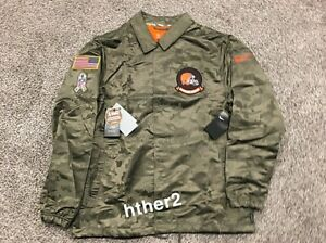 2019 Cleveland Browns Nike Salute to Service Jacket IN HAND All Sizes STS