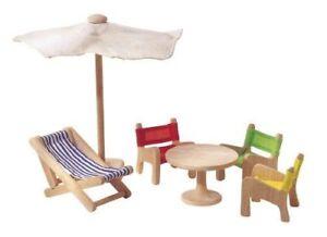 PlanToys Patio Furniture