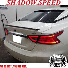 2015~17 Painted D Style Rear Trunk Spoiler For Nissan Maxima A36 Sedan S SV SL ✪