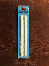 TIKI 2-Pack 9-in White Fiberglass Replacement Torch Wicks For Bottle Oil Lamp