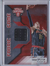 Tiago Splitter 2015-16 Totally Certified *Fabric of the Game Jersey* NBA /199