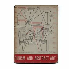 1936 Alfred H Barr, Jr. CUBISM & ABSTRACT ART classic MoMA 1st ed w/ dust jacket