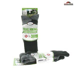 (2) Hiking Crew Socks Medium Trail ~ NEW