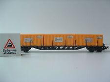 RÖWA 2026 4-achsiger Flachwagen mit Drehrunngen DB Sea Container ltd TOP M467