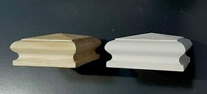 Newel Post Cap for 90mm x 90mm Newel Post ,Pine Unfinished or Primed