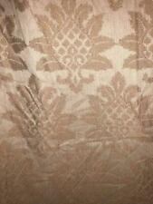 DRAPERY UPHOLSTERY FABRIC JACQUARD EMBROIDERY CLASSIC ROSE GOLD SOFT BY THE YARD