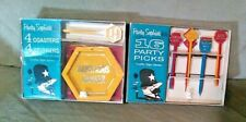 Party Sophistikits 16 Party Sticks/4 Coasters 4 Stirrers Traffic Sign Series New