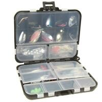 37pcs Metal Spoon Fishing Lure Kits Spinning with Box Tackle #8Y