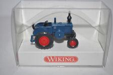 Wiking 0880 03 Lanz Bulldog Tractor (Azure Blue) for Marklin -NEW w/BOX
