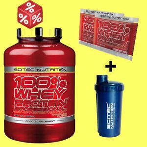 Scitec Nutrition.100% WHEY PROTEIN PROF 2350g +Shaker+Prob.Aktion nur für kurze