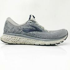 Brooks Mens Glycerin 17 1102961D015 Gray Running Shoes Lace Up Low Top Size 10 D