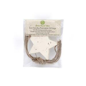 Wildflower Seed - Plantable Gift Tags - Star (Pack of 10)