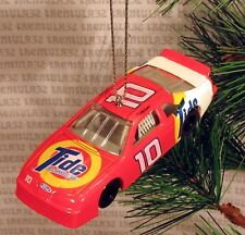 TIDE #10 FORD RACE CAR RACING CHRISTMAS ORNAMENT XMAS