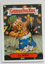 GARBAGE PAIL KIDS 33B ILL WILL STICKER CARD WITH PUZZLE PIECE GPK-47
