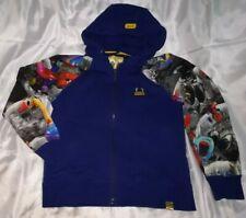 Pancoat - Yellow  Duck - Blue - Zipped Hoodie - Jumper - Jacket - Medium M