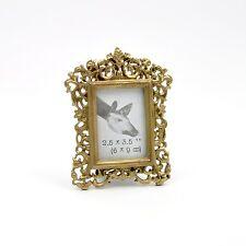 Pretty aburrido oro Marcos de fotos Fancy Oscuro Oro pequeño marco de foto, da Decorativo