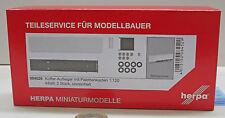 Herpa 084512 maleta de refrigeración-hummer con palettenkasten contenido: 2 unidades