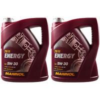 10L Original MANNOL Energy 5W-30 API SL/CF Öl Motoröl MN7511-5