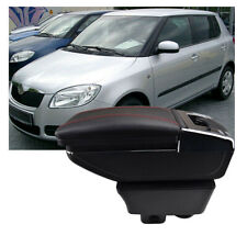 Central Armrest Rotatable For Skoda Fabia 2 2008-2013 Storage Box Parts