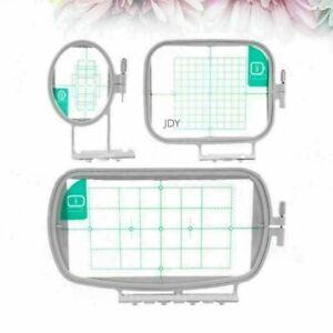 3 stk Stickrahmen für Brother Stickmaschinen Haushalt Nähmaschine Tools DE