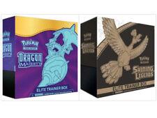 Dragon Majesty Elite Trainer Box + Shining Legends Elite Trainer Box Pokemon TCG