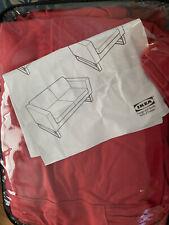 NEW IKEA LUND HOGEN Red Loveseat Cover  NWOB