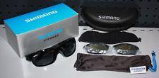 Shimano Aero Wechselglas Polarisationsbrille Polbrille Sonnenbrille Sunglass OVP
