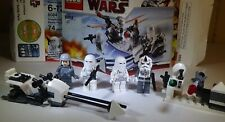 Lego Star Wars 8084 Snowtrooper Battle Pack with Instructions, Minifigs Complete