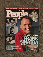 THE MANY LIVES OF FRANK SINATRA PEOPLE MAGAZINE JUNE 1, 1998. TRIBUTE EDITION.