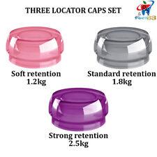 Dental Implant Locator Silicone Set 3 Retention Caps