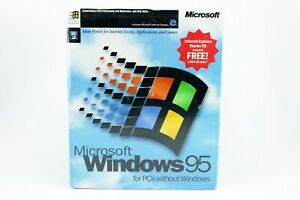 Microsoft Windows 95 Retail Software 3.5 Floppy Disk, Sealed. Great Collection