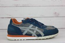 Onitsuka Tiger Men's Gray Blue Orange Size 7 Running Shoes D5N41