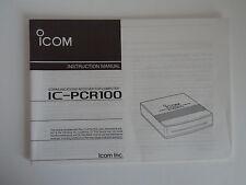 Icom-PCR100 (véritable manuel d'instructions uniquement)... radio _ trader _ irlande.