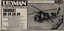 Leoman 1:72 Sikorsky UH-34 CH-34 Resin Plastic Aircraft Model Kit #A8415U