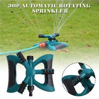 Automatisch Rasensprenger 360° Sprinkler Sprenkler Regner Rasen Bewässerung NEU