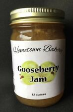 Hometown Gooseberry Jam, Cooked In Small Batches Using Real Fruit