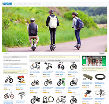 Amazon Affiliate Ready Made Website Electric Bike Store