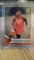 2019-20 Panini Clearly Donruss Terence Davis Rated Rookie RC Gold Acetate