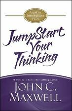 JUMPSTART YOUR THINKING Unabridged audio book CD by JOHN C. MAXWELL - Brand New!