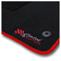 Auto-Fußmatten Limited Red für Mazda 2 DE 2007 - 2011 Automatten Autoteppiche