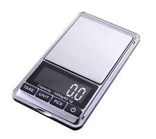0.1 g - 1000g Precision Pocket Digital Weighing Scales Gemstones Jewellery