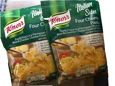Pack Of 2 Knorr Italian Sides Four Cheese Pasta Cheesy Side Dish Exp 10/20