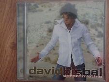 CD Musica,David Bisbal,Corazon Latino,2002