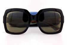 Brand New GUCCI Sunglasses GG 0036/S 002 Black/Green For Women