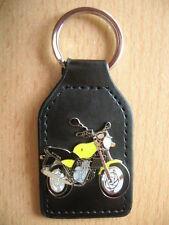 Porte clé MZ 125 rt/MZ 125rt jaune yellow moto type 0837 Motorbike