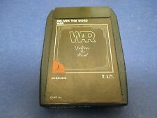 War 8 Track Deliver The World, Gypsy Man, H2 Overture, Blisters,In Your Eyes