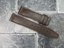 20mm TOP GUN Brown Soft Calf LEATHER STRAP Watch Band Brown Stitch IWC PILOT