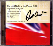 Leonard SLATKIN Signed BBC Last Night of the Proms 2003 GHEORGHIU JOSEFOWICZ CD