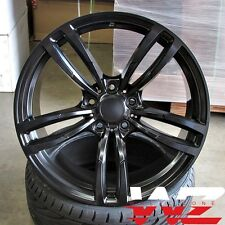 19 inch 437 Style Wheels Satin Black Fits BMW 3 4 5 6 Series M3 M4 M5 M6